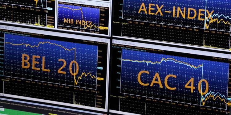 La Bourse de Paris s'élance dans le vert en regardant du côté des Etats-Unis