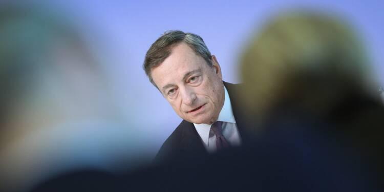 """La BCE devrait décider """"en octobre"""" de sa future politique monétaire (Draghi)"""