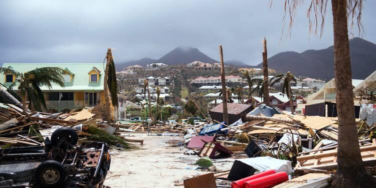 """Irma: le coût des dégâts, """"bien supérieur"""" à 200 millions d'euros dans les Antilles françaises"""