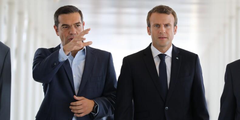 Macron veut relancer l'investissement français et européen en Grèce