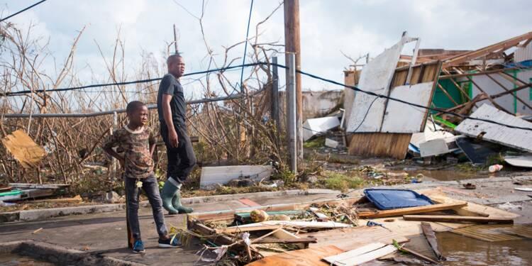 Ouragan Irma : environ 1,2 milliard d'euros de dégats à St-Martin et St-Barthélemy