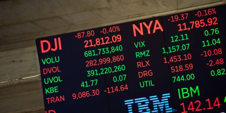 Wall Street, soulagée, termine en nette hausse