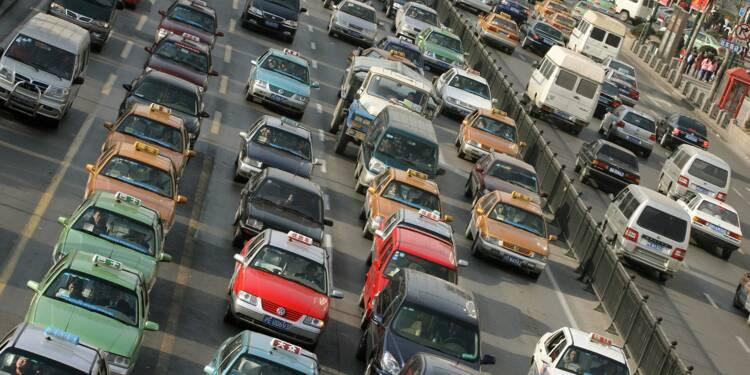 La Chine veut interdire les voitures à essence