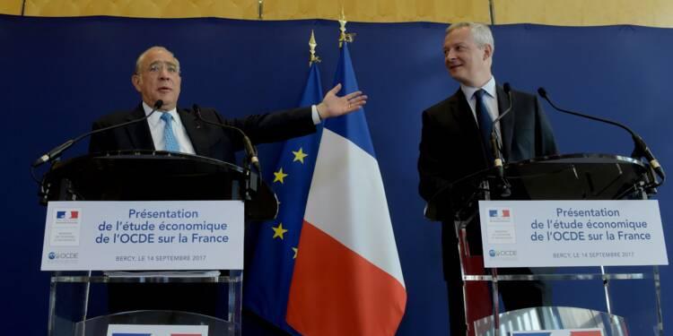 Après le FMI, l'OCDE apporte à son tour son soutien aux réformes de Macron