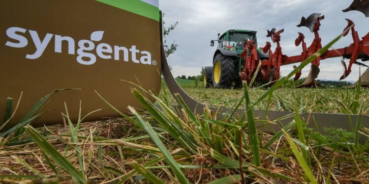 Syngenta cherche à lever 4,8 milliards de dollars