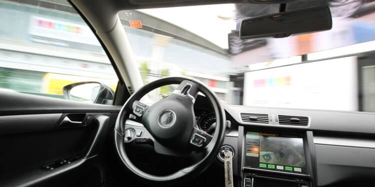 Automobile: à Francfort, la conduite autonome fascine ou laisse perplexe