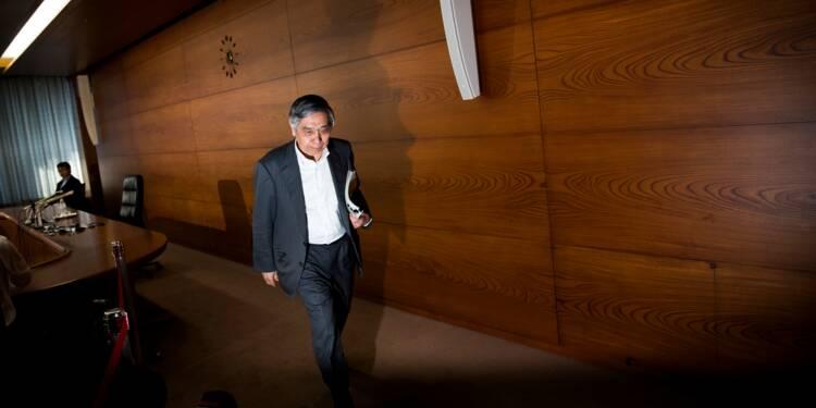 """Banque du Japon: statu quo monétaire, l'économie japonaise """"croît modérément"""""""