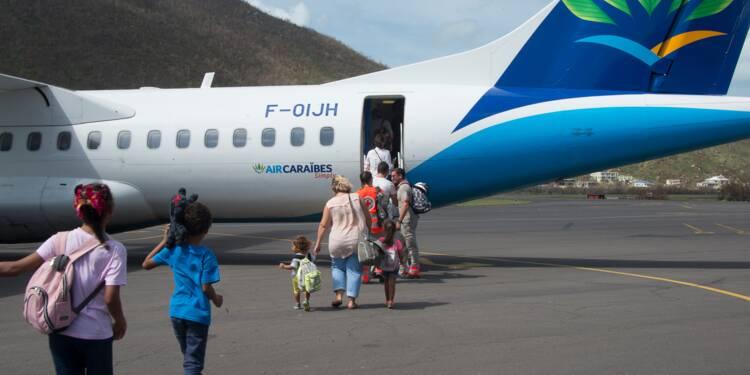 Ouragans: reprise samedi des vols commerciaux vers Saint-Martin