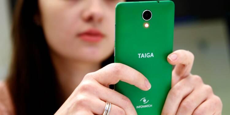 Un smartphone russe axé sur la sécurité des données