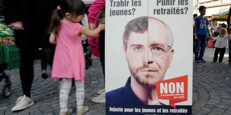"""Les Suisses disent """"non"""" à la réforme des retraites"""