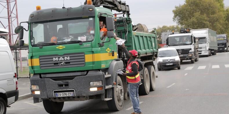 Réforme du travail: des actions de routiers nombreuses mais contrecarrées