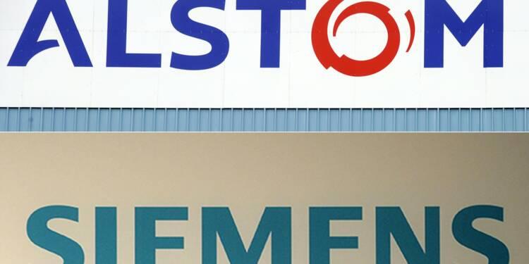 Bruxelles suspend son enquête sur l'union entre Alstom et Siemens