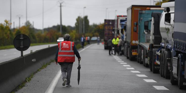 Un accord entre les syndicats, le patronat et le gouvernement — Transport routier