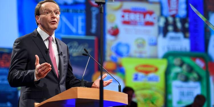 Le nouveau patron de Nestlé dévoile son plan d'action