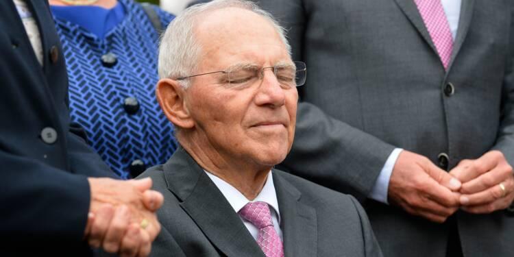 Allemagne: Schäuble, chantre de l'orthodoxie budgétaire, quitte les Finances