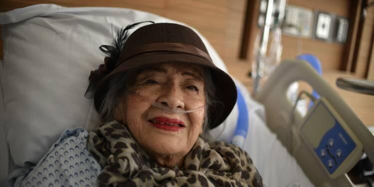 """Mexique: """"Action!"""", réclame l'actrice de 87 ans rescapée du séisme"""
