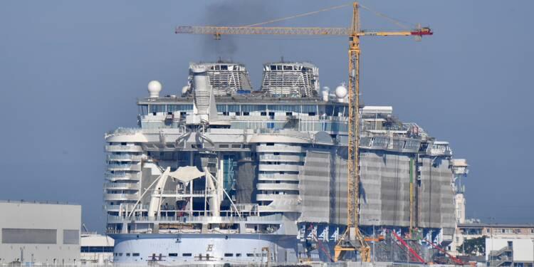 Paris et Rome s'accordent sur la reprise des chantiers navals de Saint-Nazaire