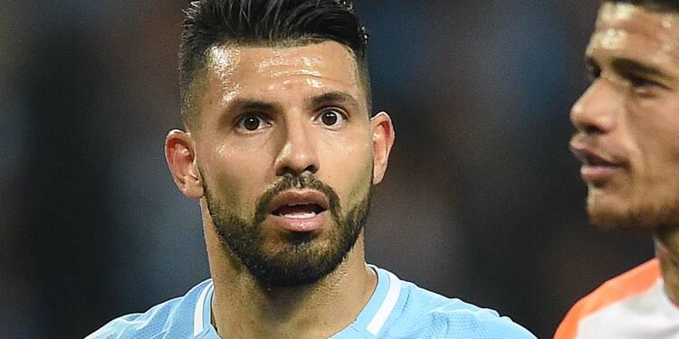 Manchester City: Agüero blessé dans un accident de voiture aux Pays-Bas