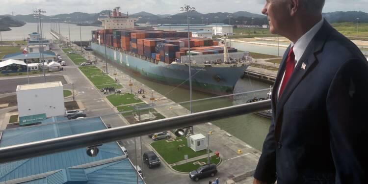 Le canal de Panama prévoit un tonnage record en 2018