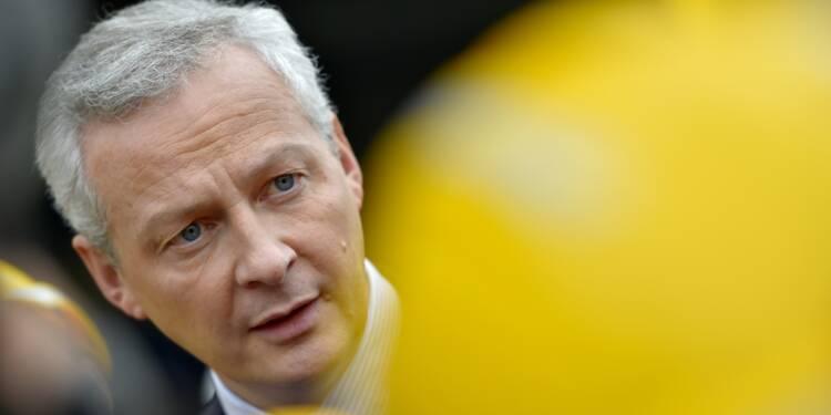 """Fusion Siemens-Alstom: Le Maire dirigera le """"comité national de suivi"""""""