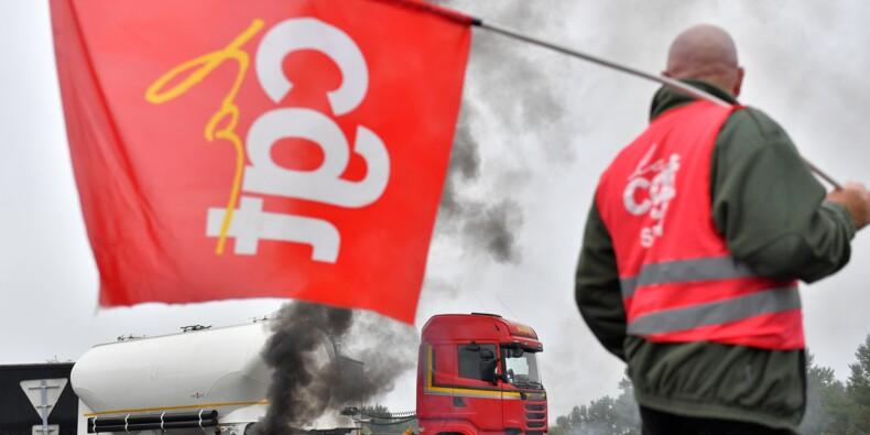 """Routiers: échanges """"tendus"""" avec le patronat, les syndicats """"effarés"""""""