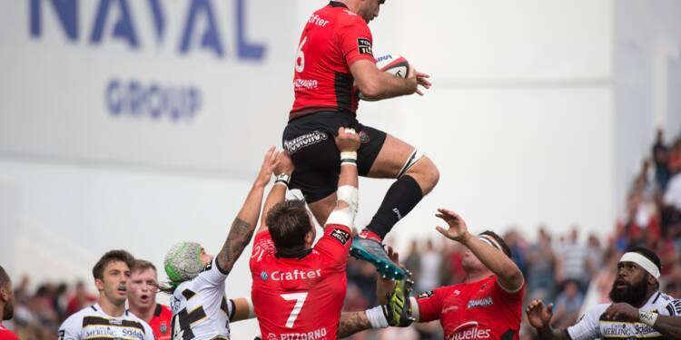 Top 14: Toulon conserve de justesse sa souveraineté