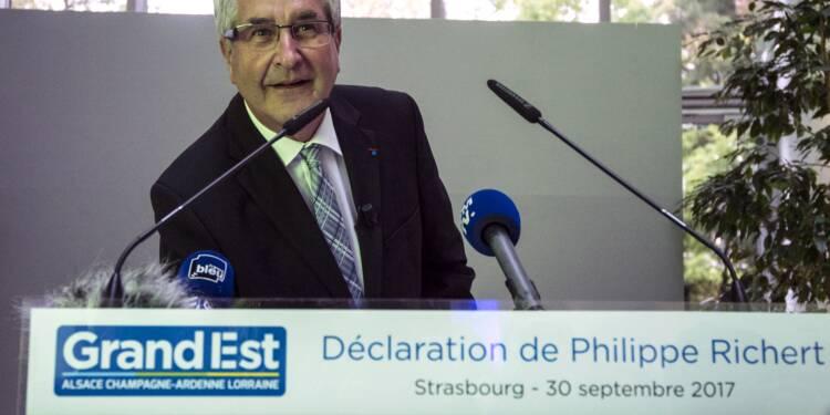 Le président du Grand Est, Philippe Richert, démissionne et quitte la politique