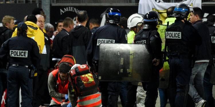 Ligue 1: le drame à Amiens relègue au second plan la fête à Paris