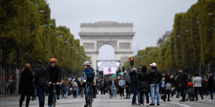 """""""Journée sans ma voiture"""" à Paris: mode d'emploi"""
