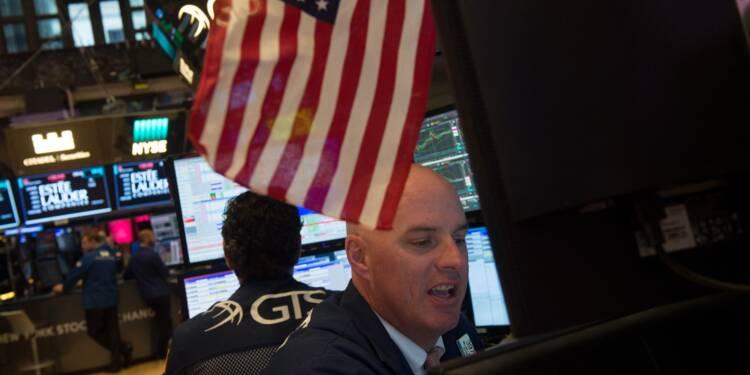 Aidés par des statistiques favorables, les indices de Wall Street à des records