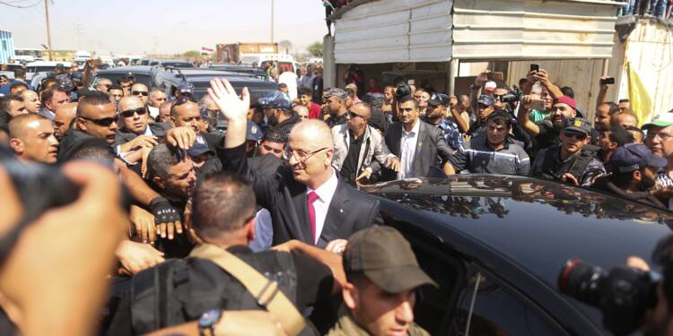 Le Premier ministre palestinien annonce le retour de son gouvernement à Gaza