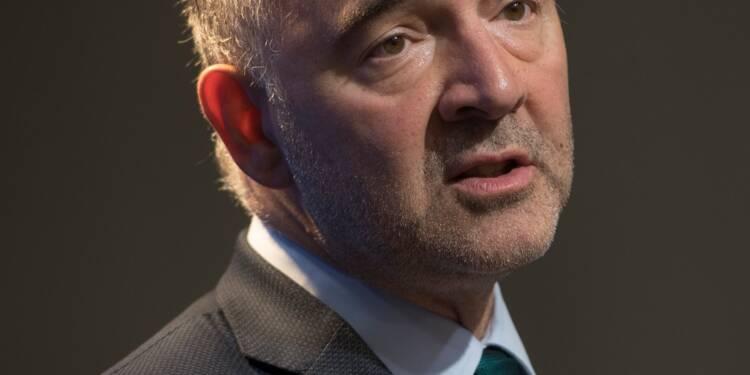"""Ministre des Finances de la zone euro: """"Je connais bien le job"""", dit Moscovici"""