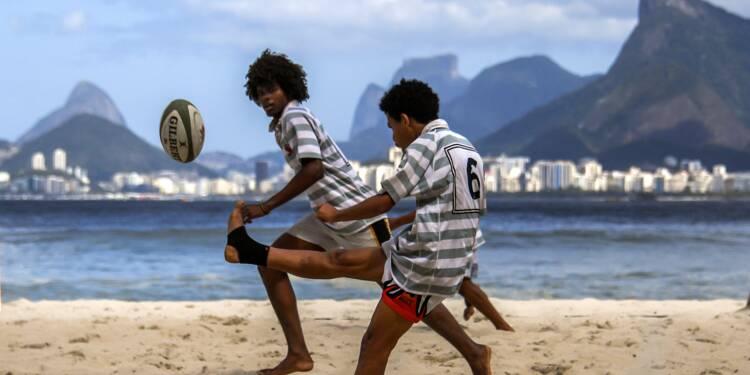 Dans une favela brésilienne, le rugby ouvre l'horizon des jeunes