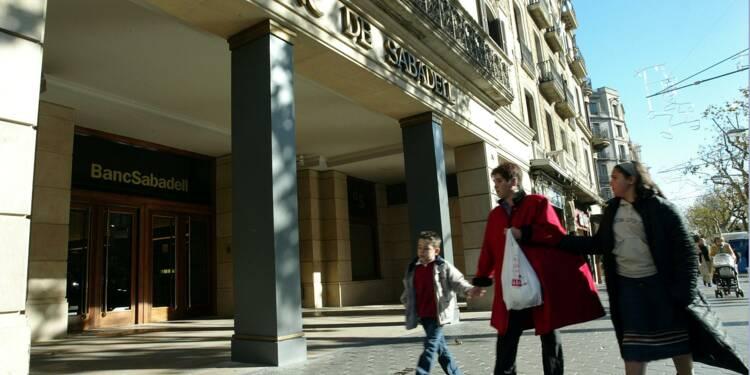 Les banques catalanes chutent en Bourse après le référendum