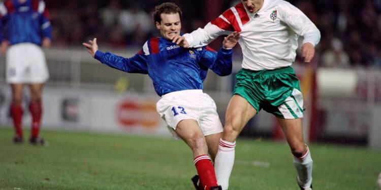 """Guérin (Bleus) à l'AFP: France-Bulgarie en 1993, """"une génération jetée à la poubelle"""""""