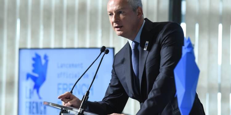 Le Maire: le Fonds pour l'innovation de rupture disponible début 2018