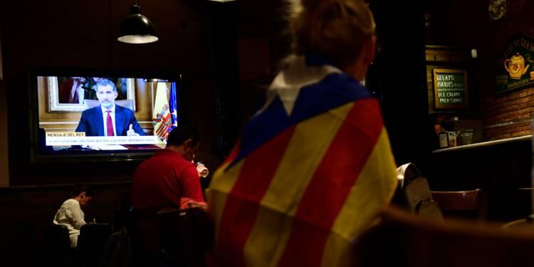 L'Etat doit assurer l'ordre constitutionnel en Catalogne, selon le roi d'Espagne