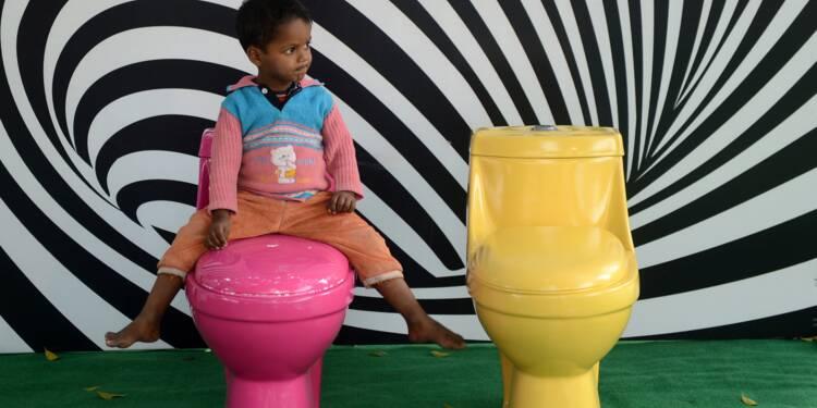 A l'école, les toilettes ne donnent pas envie
