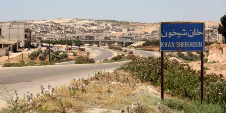 Du sarin utilisé en Syrie cinq jours avant l'attaque de Khan Cheikhoun