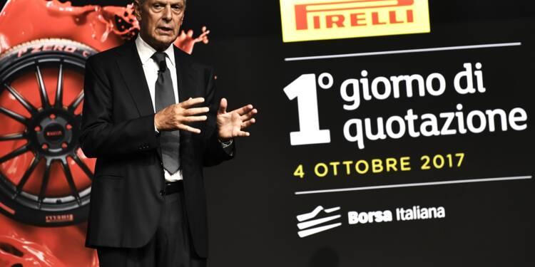 Pirelli fait son retour à la Bourse de Milan deux ans après l'avoir quittée