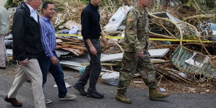 Trump demande une aide massive pour Porto Rico