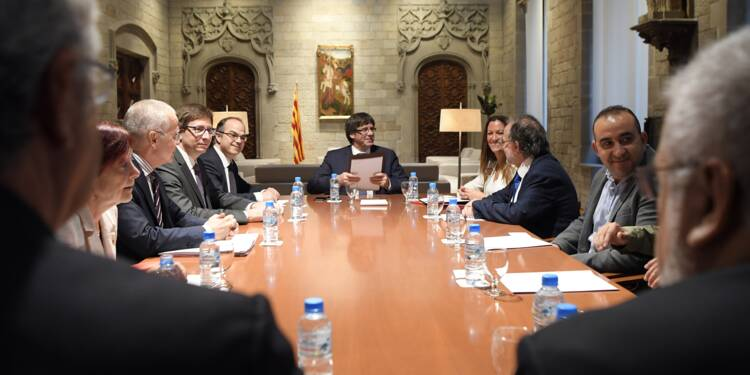 """Catalogne: divergences chez les indépendantistes """"à l'heure critique"""""""