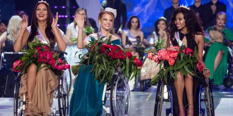 """""""Toutes gagnantes"""" au premier concours Miss Monde en fauteuil roulant"""