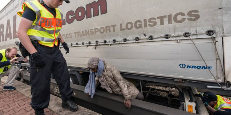 Le fret ferroviaire vers l'Allemagne, un dangereux voyage migratoire