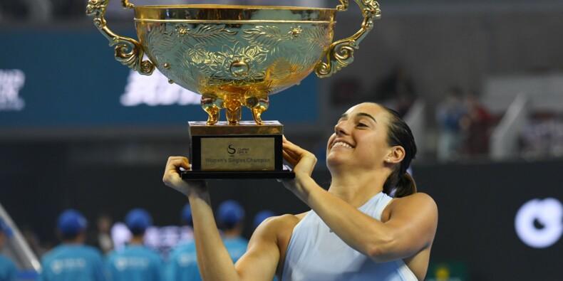 Tennis: Caroline Garcia toujours plus haut