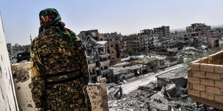 """Syrie: à Raqa, bientôt la """"dernière semaine"""" de combats contre l'EI"""