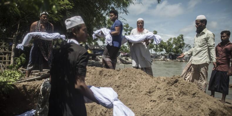 Naufrage de Rohingyas au Bangladesh: 12 morts, des dizaines de disparus