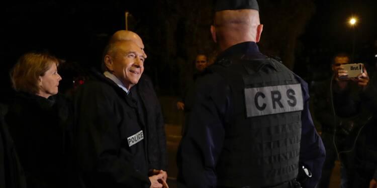 Collomb à Viry-Châtillon dimanche soir un an après l'attaque de policiers