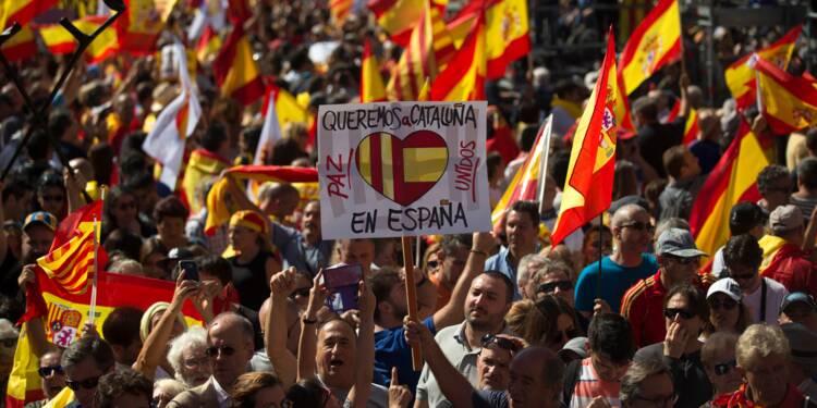 Catalogne: la semaine qui a troublé une famille non indépendantiste de Barcelone