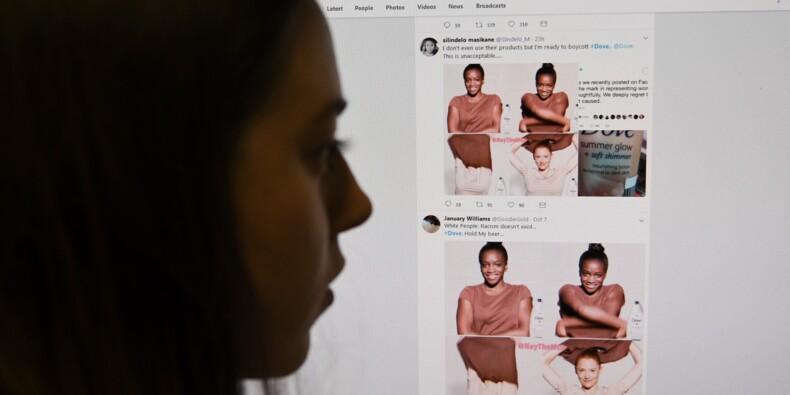 La marque de cosmétiques Dove s'excuse pour une publicité jugée raciste